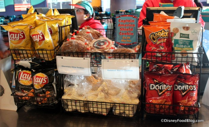 More treats at the cash registers
