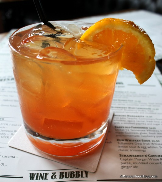 Blood Orange Bourgon