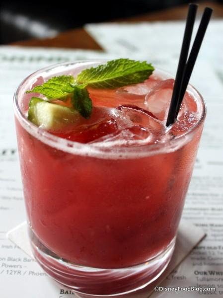 Strawberry and Cucumber Mojito