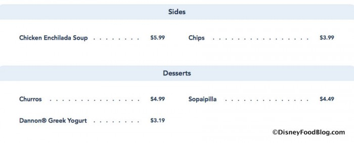 Screenshot of New Sides and Desserts at Pecos Bill's