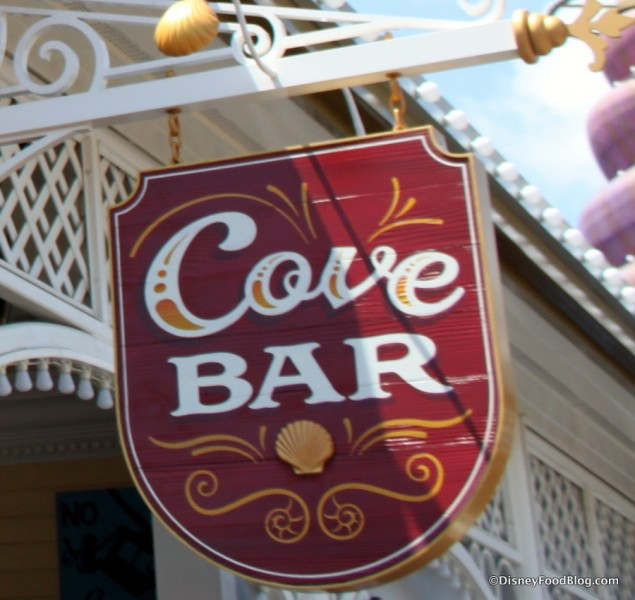 Cove Bar Sign