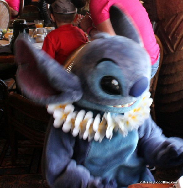 Stitch can be particularly scary to kiddos