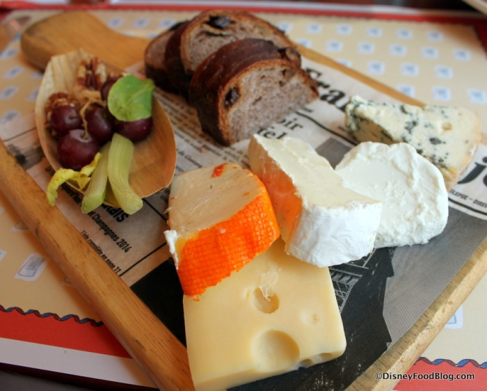 Cheese Plate -- Cheeses -- Up Close