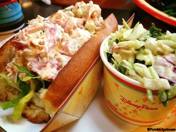 Lobster Roll from Disney's Contemporary Resort