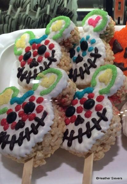 Dia de los Muertos Krispy Rice Treats