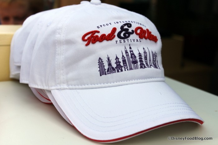 Food and Wine Festival Ball Cap