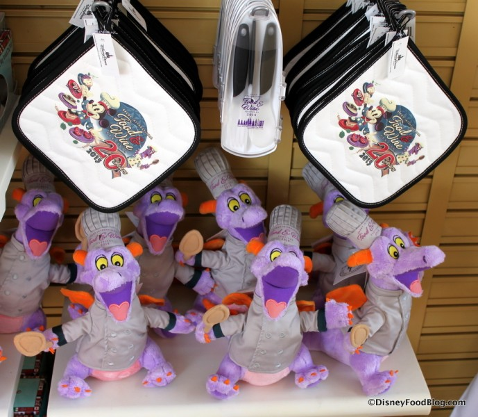 Potholders and Figment Stuffies