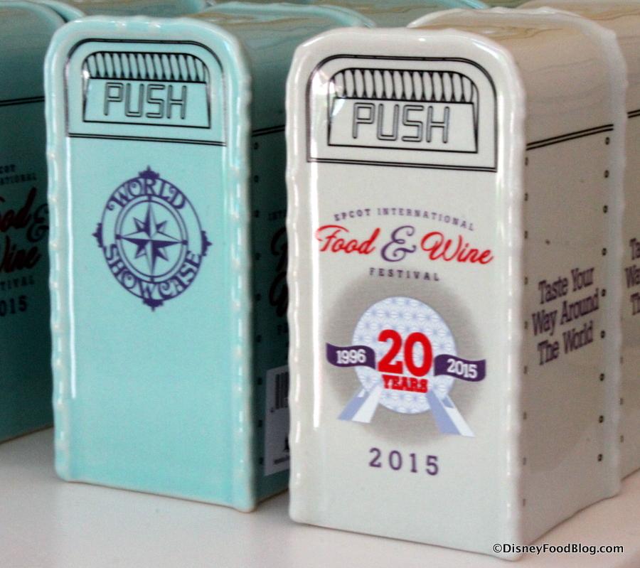trash can salt and pepper shakers - Shaker Restaurant 2015