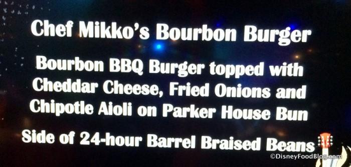 Burger Description