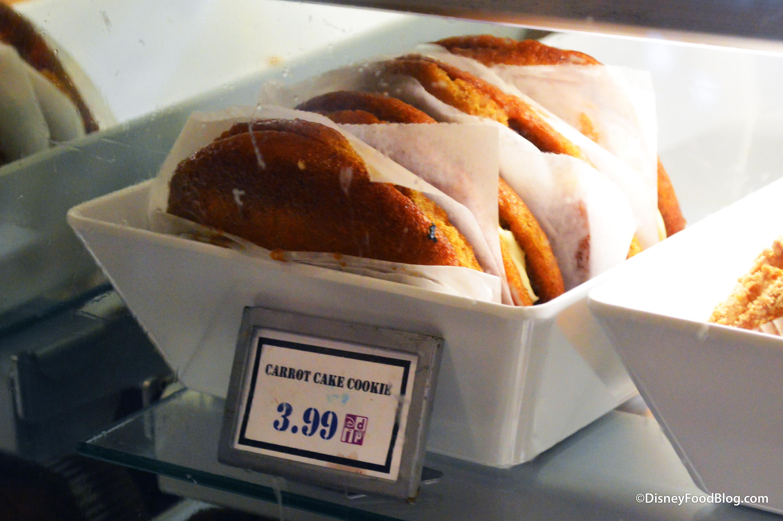 Carrot Cake Cookie Disney Hollywood Studios