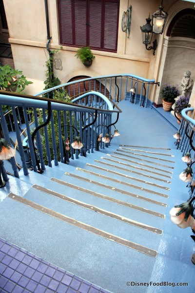 Stairway up to Club 33