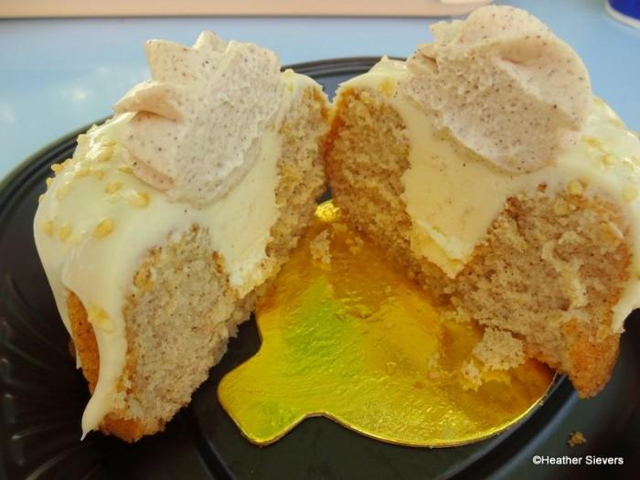 Spiced Bundt Cake Cross Section
