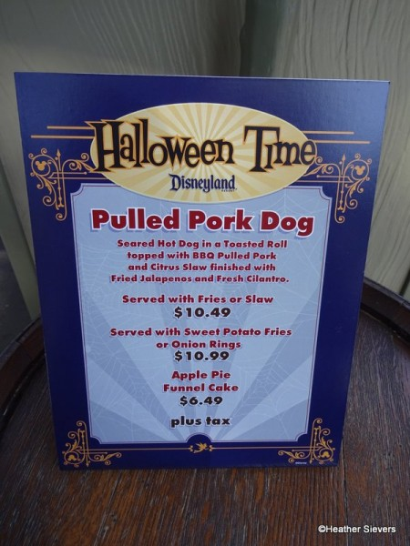 Pulled Pork Hot Dog Signage