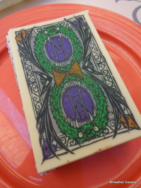 Chocolate Printed Haunted Mansion Holiday Design