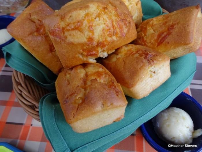 Mini Corn Bread Loaves