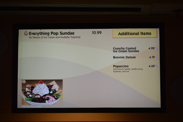 Everything Pop Menu