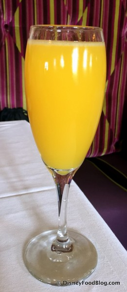 Mimosa in My Glass
