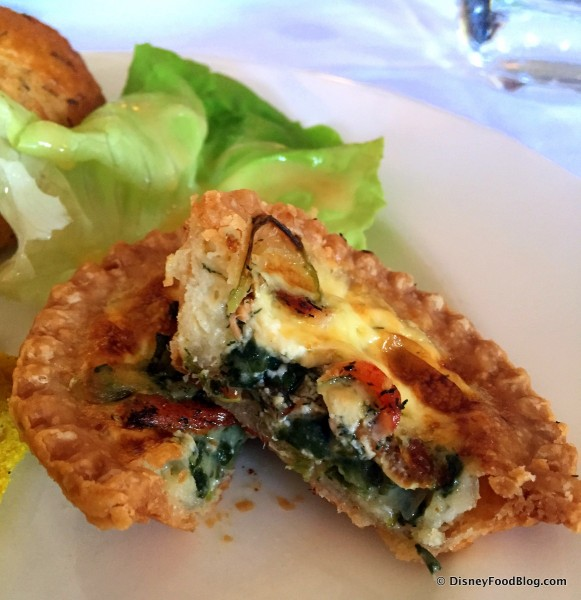 Quiche -- Cross Section