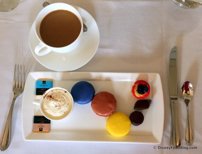 Macarons and Other Goodies with Coffee at the 2015 Parisian Afternoons Event