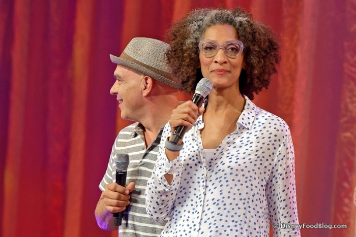 The Chew's Carla Hall and Michael Symon