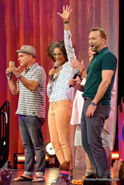 The Cast of The Chew at the 2015 Rockin' Burger Block Party