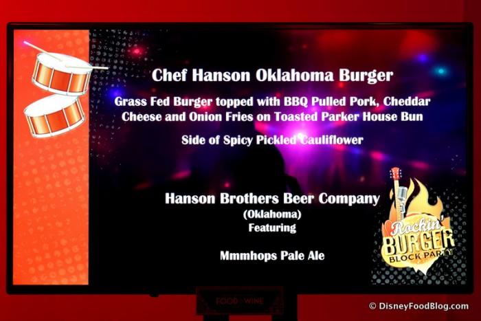Oklahoma Burger Description