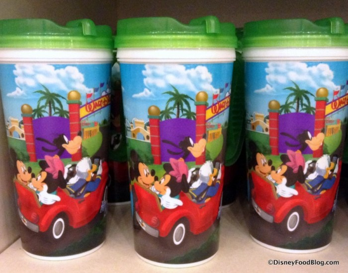 Refillable Resort Mugs
