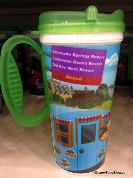 New Refillable Resort Mug Design