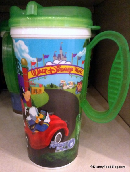 New Refillable Resort Mug Design