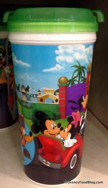 Refillable Resort Mug Design as of Fall 2015