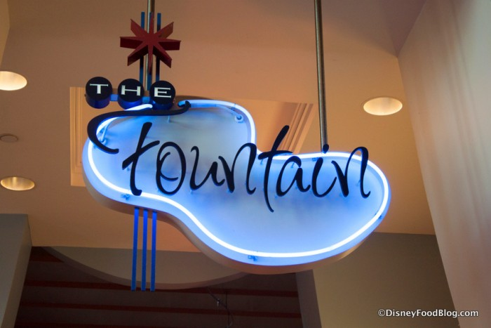 The Fountain Sign