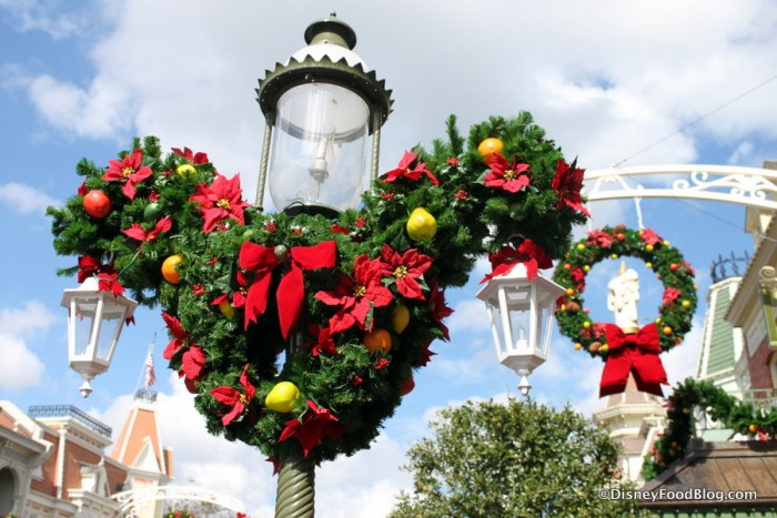 Main Street USA at Christmas Time