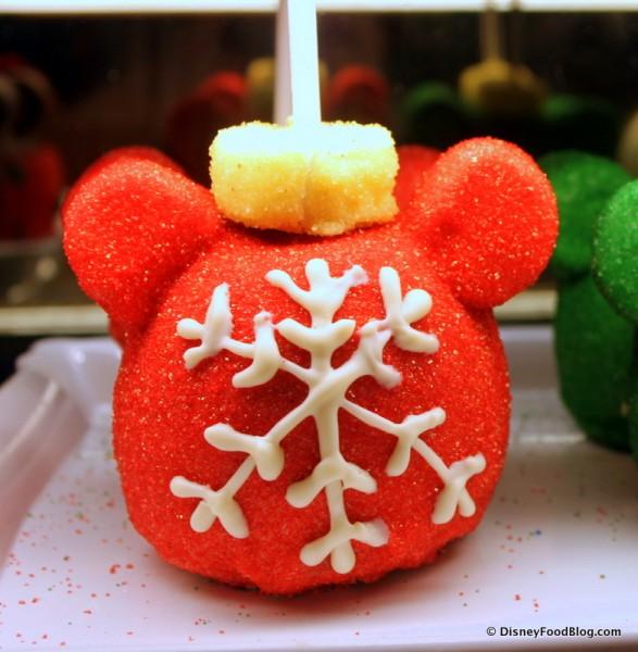 Mickey Ornament Caramel Apple