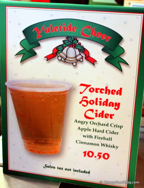 Holiday Torched Holiday Cider -- Click to Enlarge