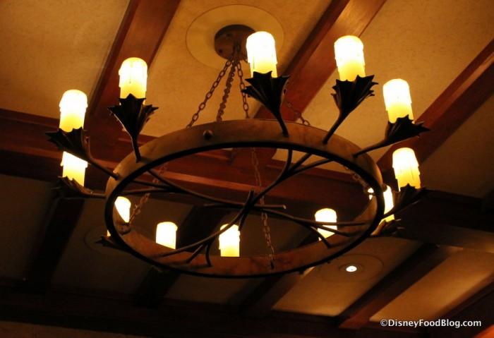 Le Celier Steakhouse Lighting