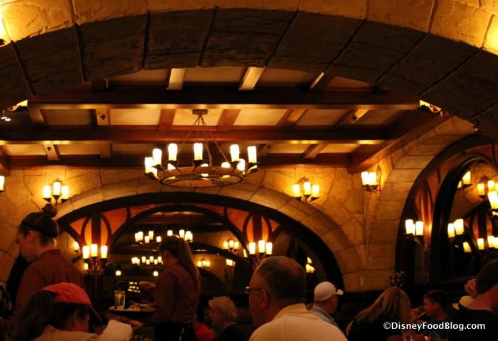Le Cellier Steakhouse Ceiling
