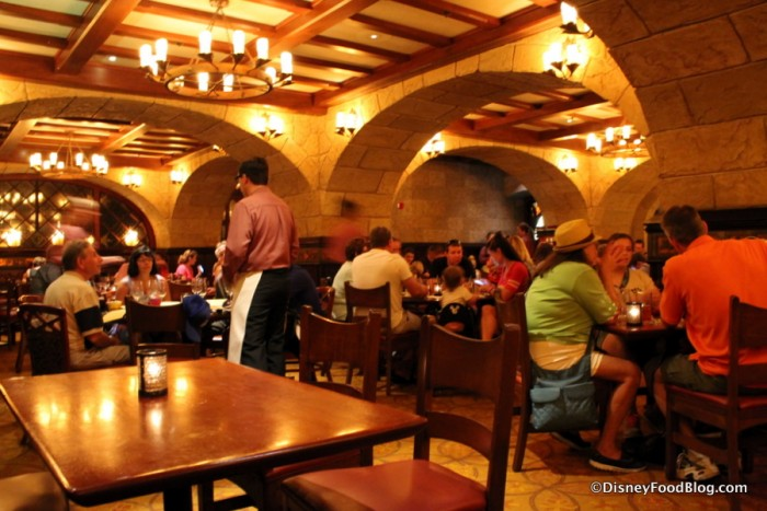 Le Cellier Steakhouse Dining Room