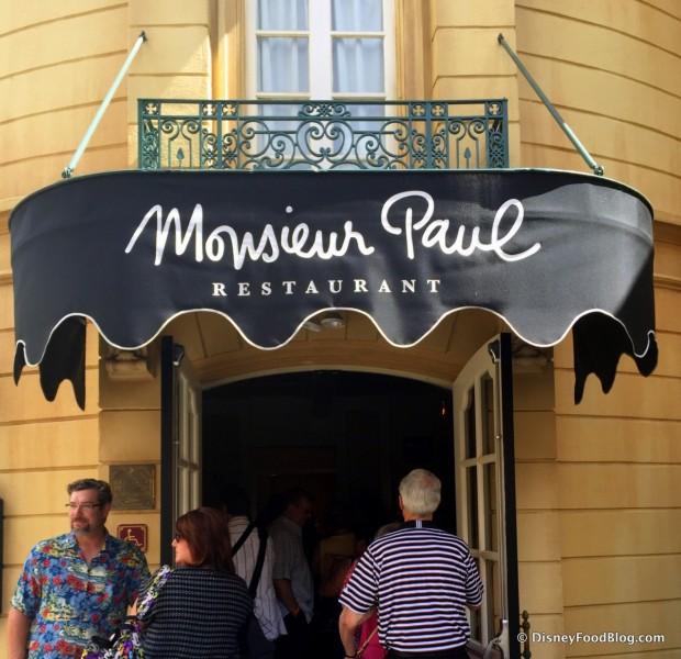 Monsieur Paul Entrance