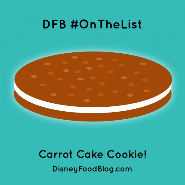 #OnTheList: Carrot Cake Cookie