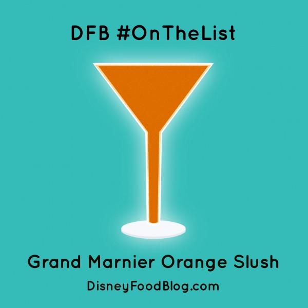 #OnTheList: Grand Marnier Orange Slush