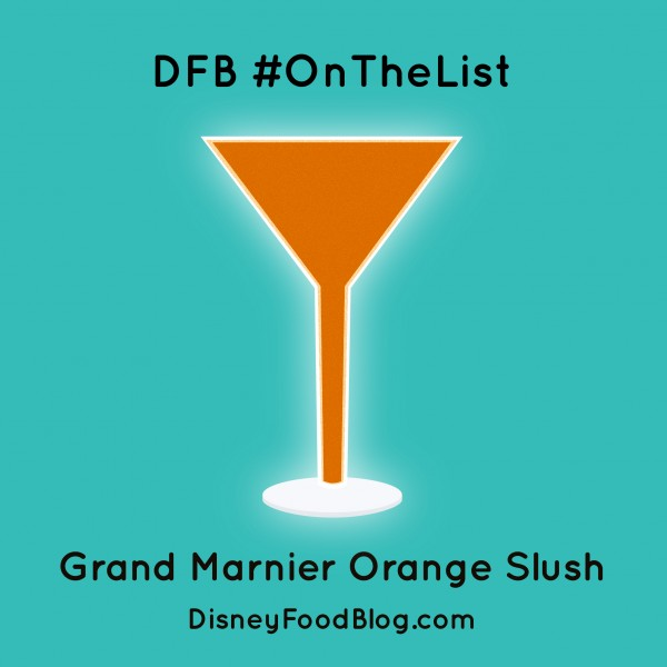 #OnTheList: Grand Marnier Orange Slush
