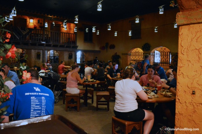 Pecos Bill Tale Tale Inn and Cafe Seating Area