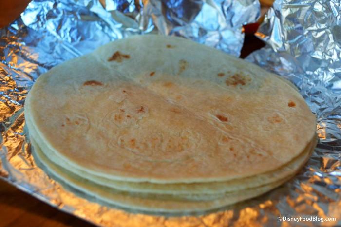 Fajita Platter - Tortillas
