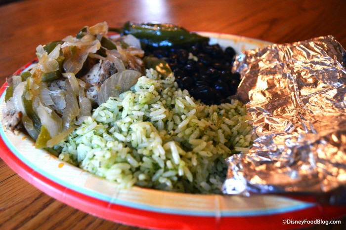 Fajita Platter at Pecos Bill Tall Tale Inn and Cafe