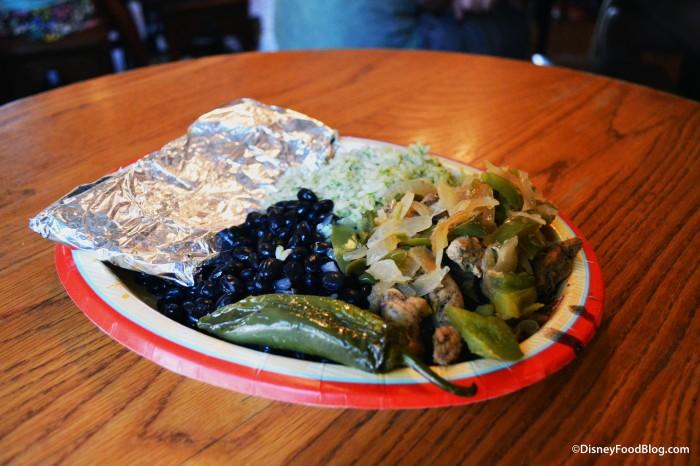 The Fajita Platter at Pecos Bill's