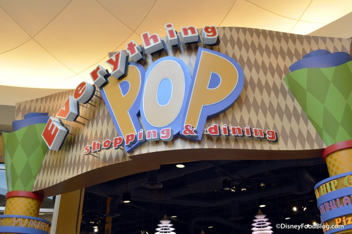 Everything Pop Shopping & Dining Sign