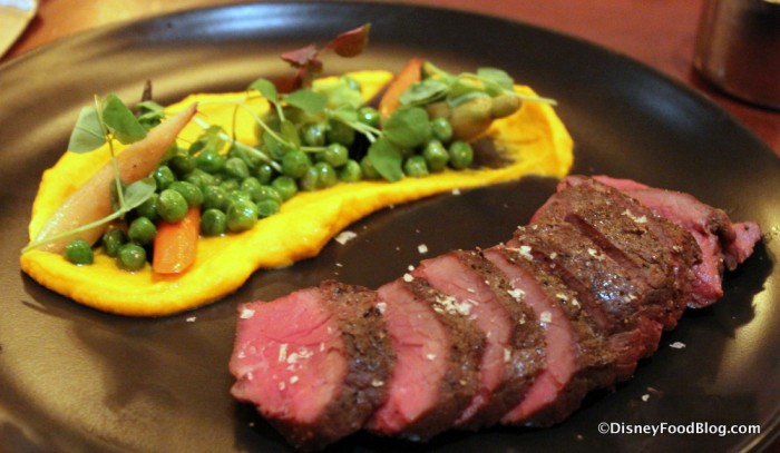 Seared Canadian Bison Strip Loin