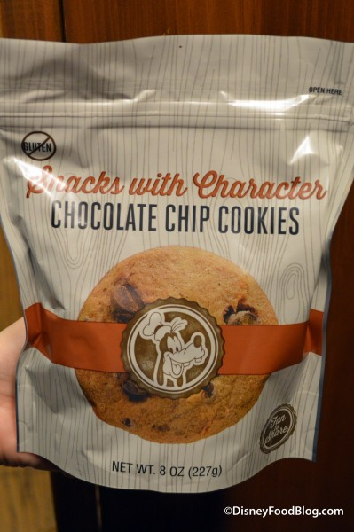 Goofy on the Chocolate Chips Cookie Package