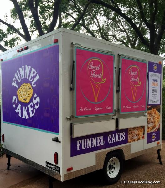 Carnival Corner Food Truck -- Funnel Cake Truck
