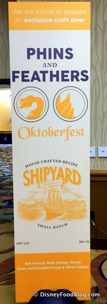 Phins and Feathers Oktoberfest Sign